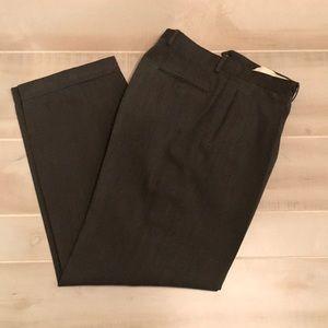 Giorgio Armani dress pants 44-38 gray green